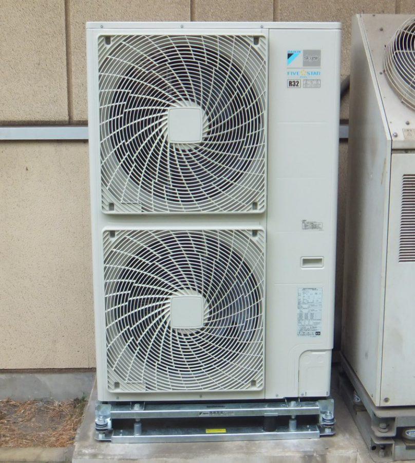 在日米軍基地関連事業 空調設備工事