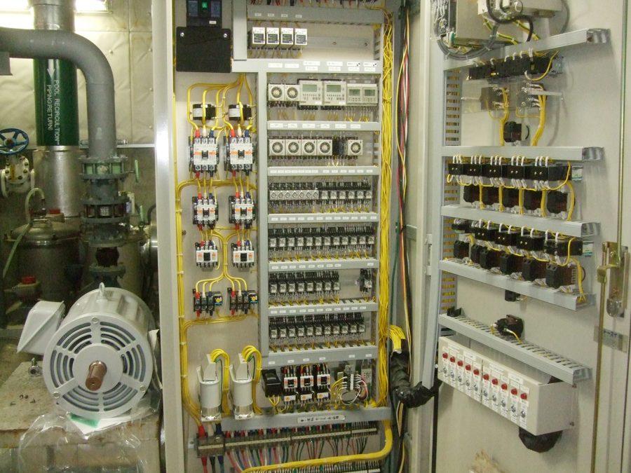 在日米軍基地関連事業 電気設備工事