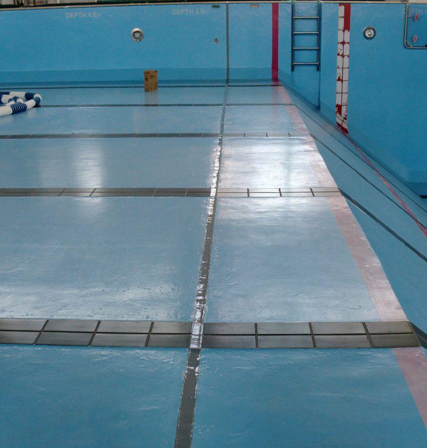 在日米軍基地関連事業 屋内プール補修工事